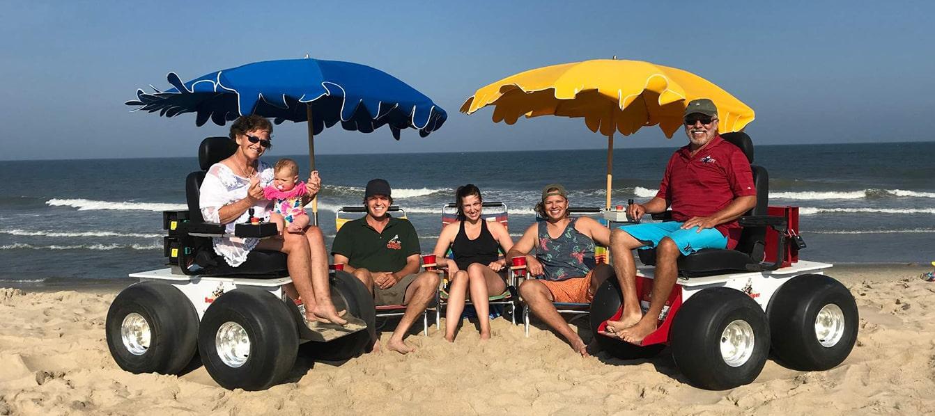 Sand Helper Motorized Beach Wheelchair Rentals Sales